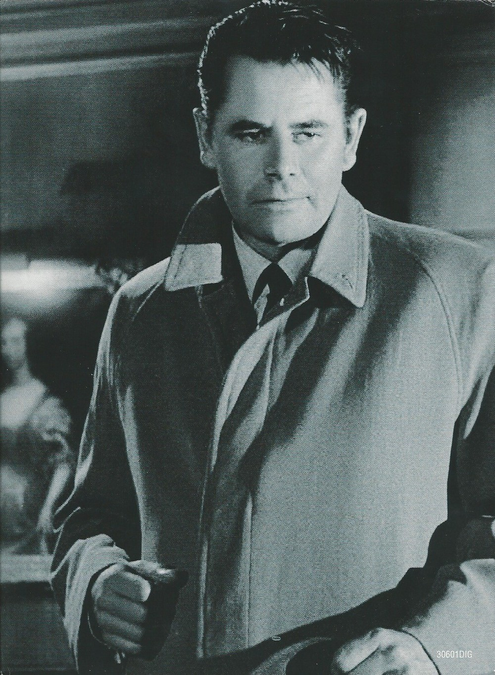 Glenn Ford (1916-2006) in The Big Heat. While Ford was in memorable roles from the 40's, through the 70's, including Superman's adopted Earth father in the memorable 1978 film, the 1950's was his greatest decade. Aside from the two Fritz Lang films, he was captivating as the villain in Delmer Daves' 1957 film 3:10 to Yuma, which could arguably be called a noir western.