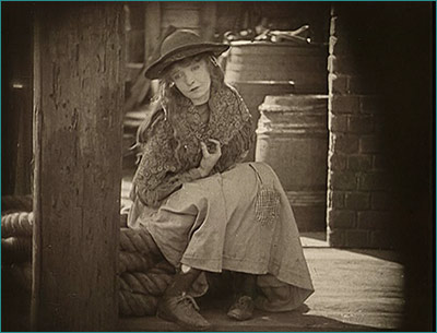 Broken Blossoms, directed by D. W. Griffith.  USA, 1919.