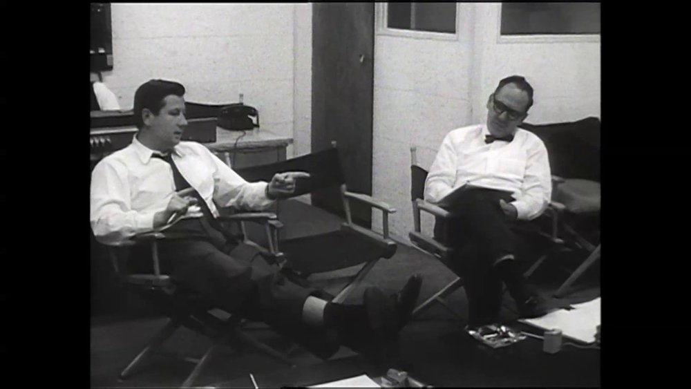 Robert Drew expounding on his theories of documentary film-making to an interviewer in 1962.