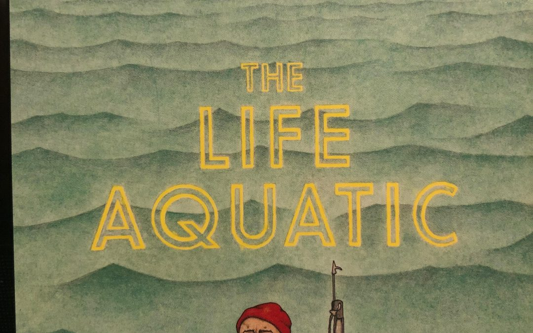 Sunday Film Series, Week #50.  The Life Aquatic with Steve Zissou.  (2004).  Directed by Wes Anderson.