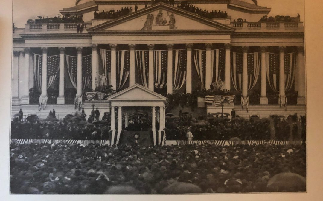 1901.  William McKinley Inauguration Footage.